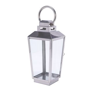 Stainless Steel Lantern Silver