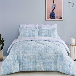 Cottage Comforter King Size Set 5 Pieces Besiktas Indigo