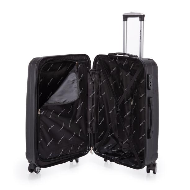 """Travel Vision Trolley Set Of 3 Pcs 20"""", 24"""", 28"""" Black image number 3"""