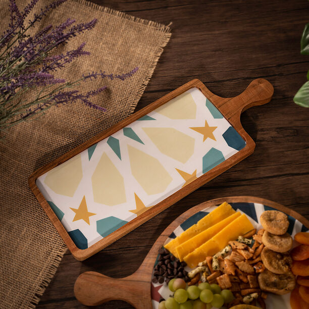 Arabesque Rectangle Serving Tray image number 0