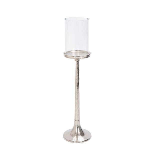 Candle Holder Silver 39 Cm image number 0