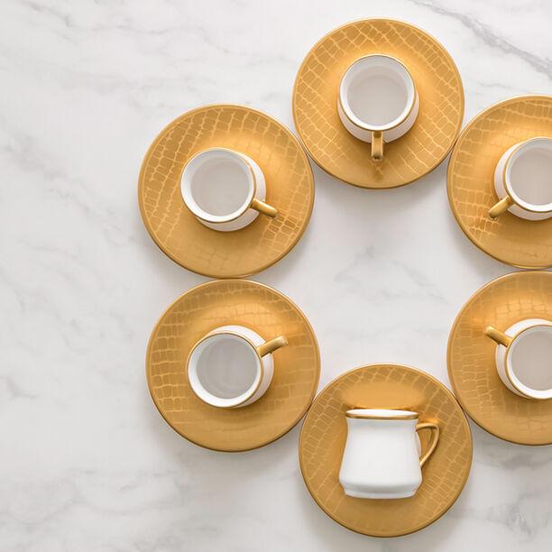 Turkish Coffee Set Gold image number 2