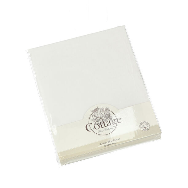 Fitted Sheet White 200*200 Cm image number 0