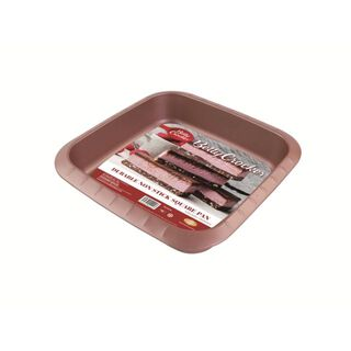 Betty Crocker Non Stick Square Pan Rose Color