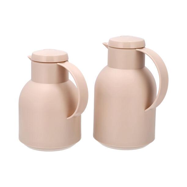 2Pcs Plastic Vacuum Flask Samoan Sand image number 1