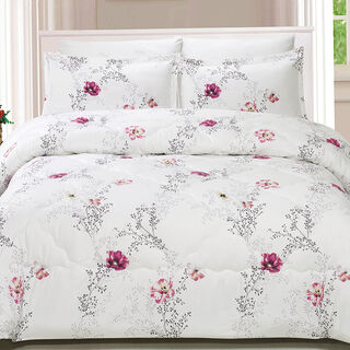 Yade Microfiber Comforter Set King Size 5 Pieces
