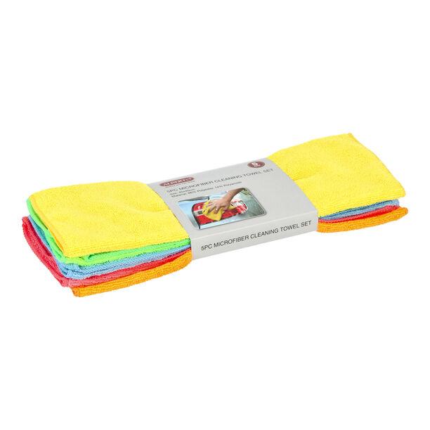 5 Pisces Microfiber Cleaning Towel Set  image number 1