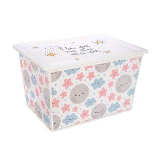 Cute Sky Storage Box 50 L