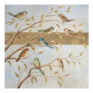 Hand Painting Birds
