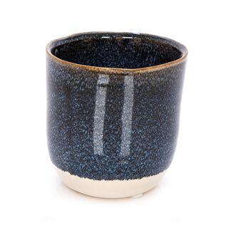Ceramic Planter Dark Blue