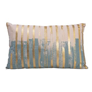Cushion Cotton Gold Foiler Print 30X50 Cm