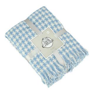 Cottage Cotton Throw 160X200Cm Blue
