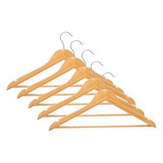 طقم علاقة ملابس خشبي 5 قطع