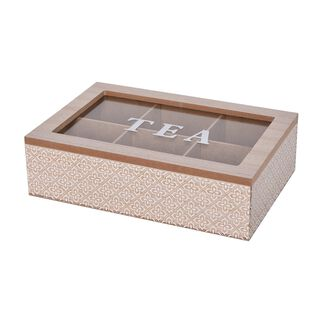 Tea Box 6 Sections