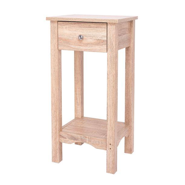 طاولة خشبية جانبية image number 0
