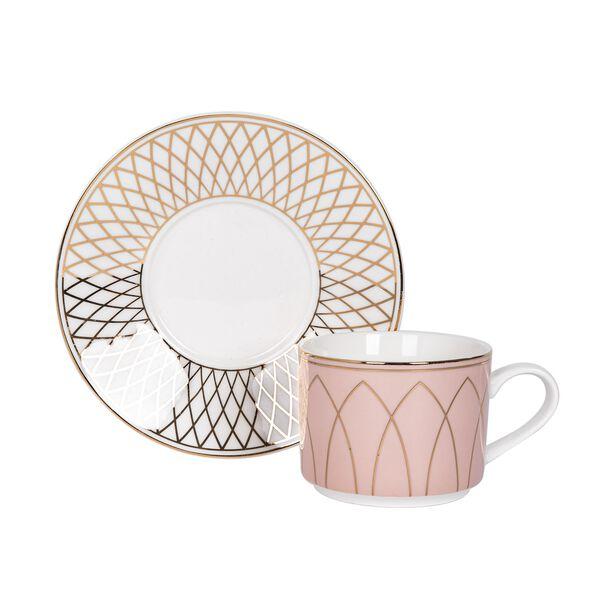 La Mesa 12 Pieces Porcelain English Tea Cups Set  image number 2