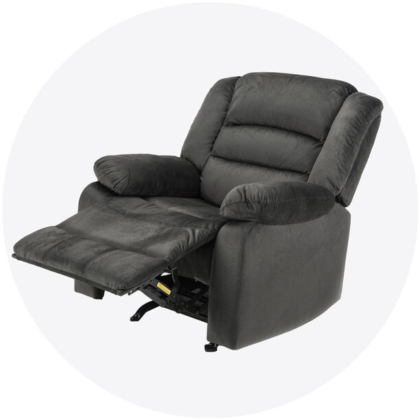 Rocking 1 Seater Recliner Dark Green  image number 0
