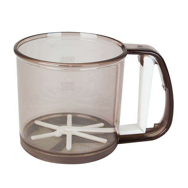 Alberto® Flour Sifter Brown Transparent Body image number 0
