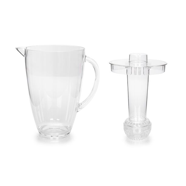 Alberto Acrylic Pitcher With Ice Tube V: 2.5 L image number 3