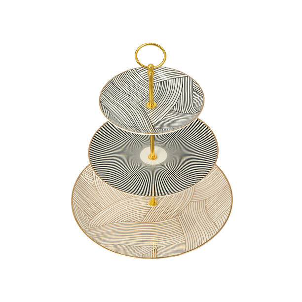 3 TIERS SERVING STAND image number 3