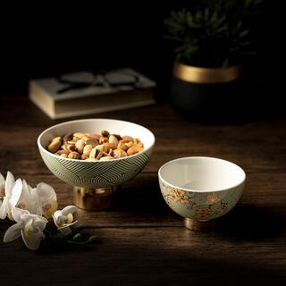 Date Bowl 2Pc Porcelain Harmony
