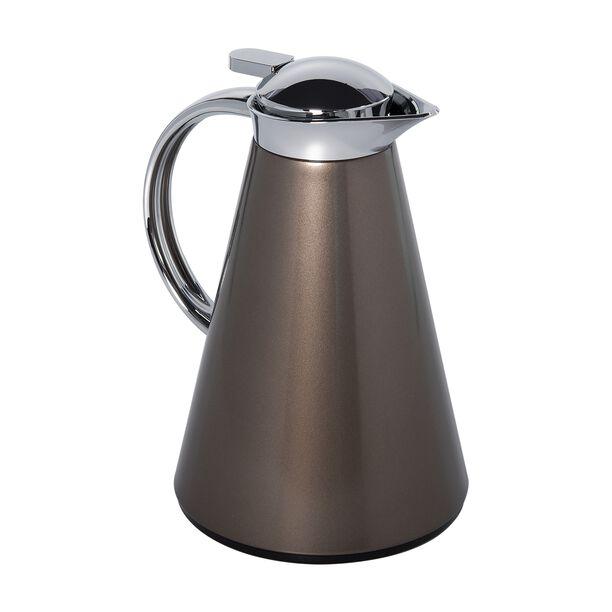 Dallety Steel Vacuum Flask Sahara Brown 1L image number 1