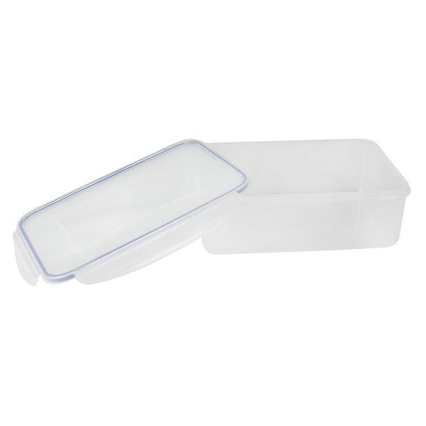 حافظة طعام بلاستيك مستطيل سعة 2.5 لتر من البرتو image number 2