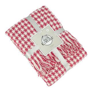 بطانية قطن مقاس 160x200 لون زهري من كوتاج