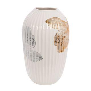 Ceramic Vase Golden Garden