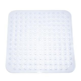 Cottage Shower Mat Clear 54X54Cm