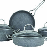 Granit Firin 7 Pcs Cookware Set With Stainless Steel Handle image number 3