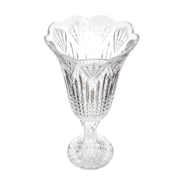 Glass Vase Clear  image number 1