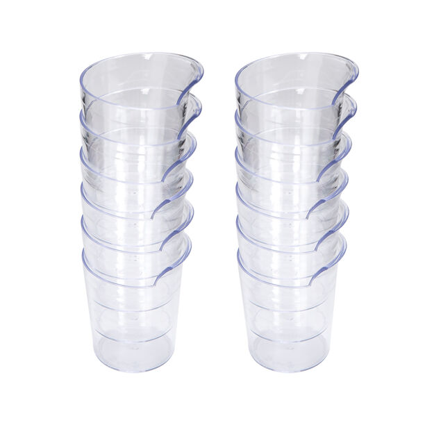 Alberto Disposable Round Cups Set Of 12 Pieces  image number 1