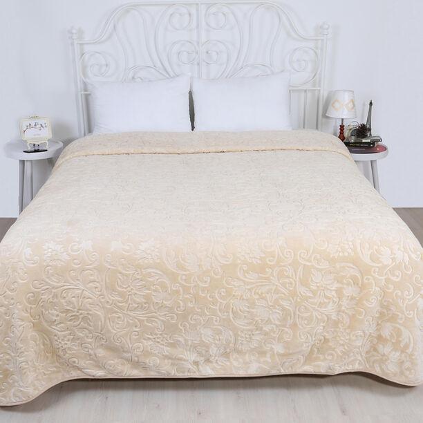 Merinos Elegance Blanket Beige image number 1