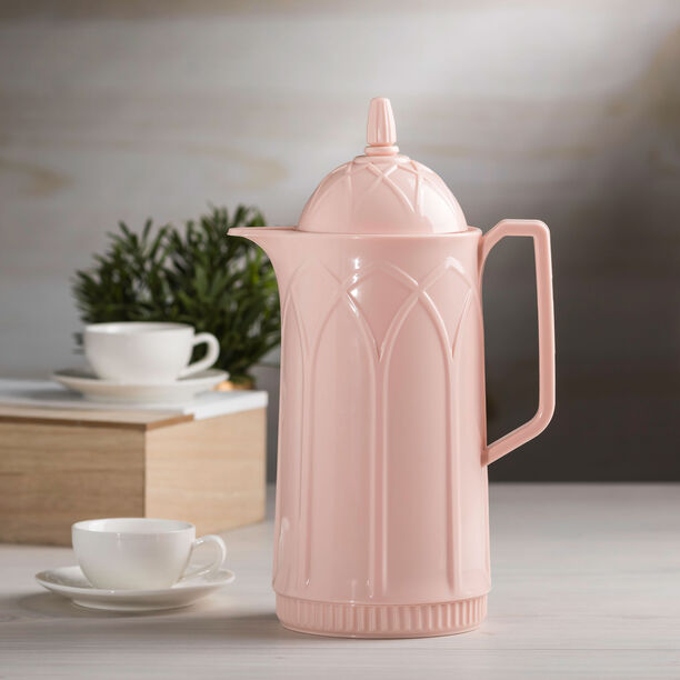 Dallety Plastic Vacuum Flask Pink image number 2