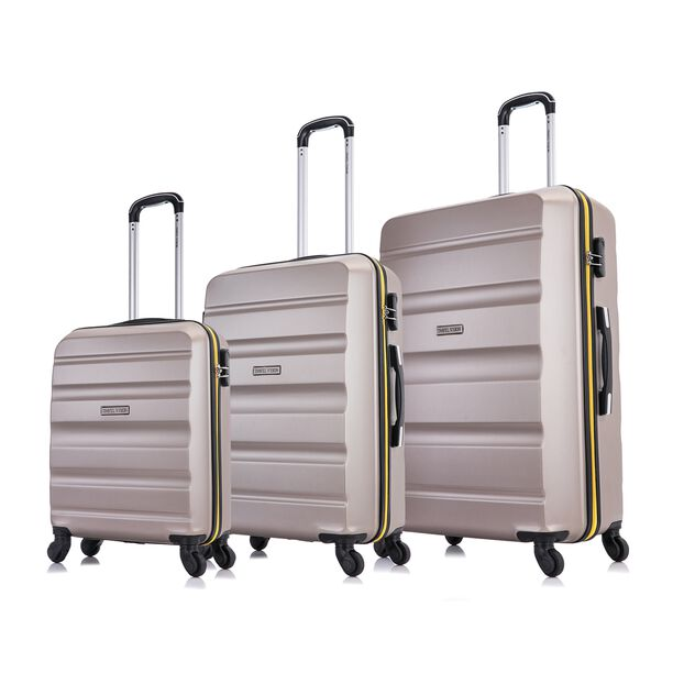 Travel Vision Bag Set 3 Pieces Youth Champagne image number 0