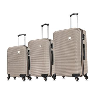 "Travel Vision Moony Set Of 3 20/24/28"" Champane"