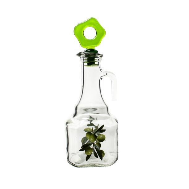 Herevin Glass Square Oil Bottle V:275Ml Assorted Colors image number 0