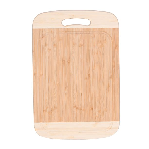 Bamboo Cutting Board With Juice Grooved Borders  image number 1