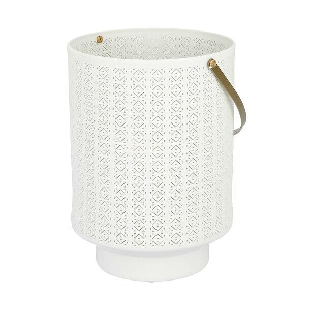 Porcelain Candle Holder White image number 1