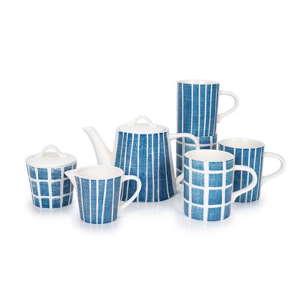 English Tea Set 7Pc Navy Carnival image number 1