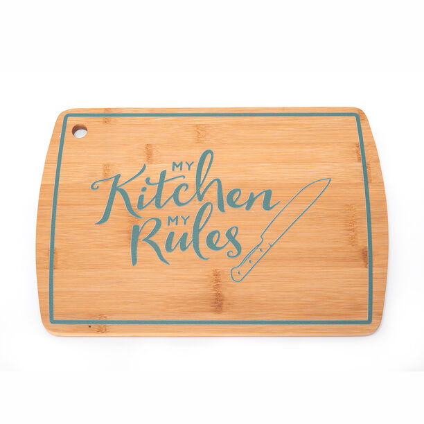 Alberto Bamboo Cutting Board Green Color  image number 1