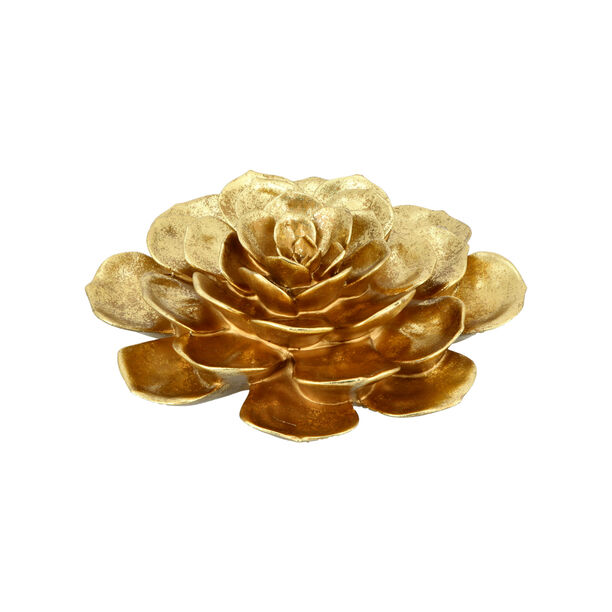 Wall Decoration Flower Gold image number 2