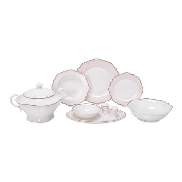 47 Pcs Porcelain Dinner Set image number 2