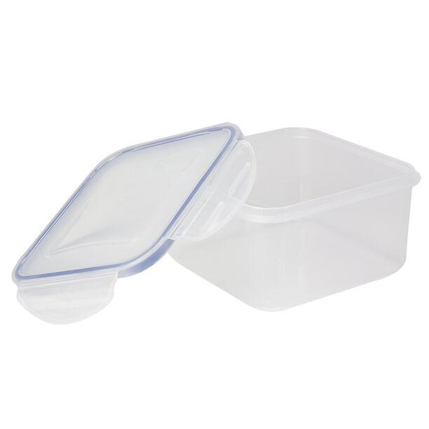 Alberto Plastic Food Saver Square Shape V:2.0L Blue Lid image number 0