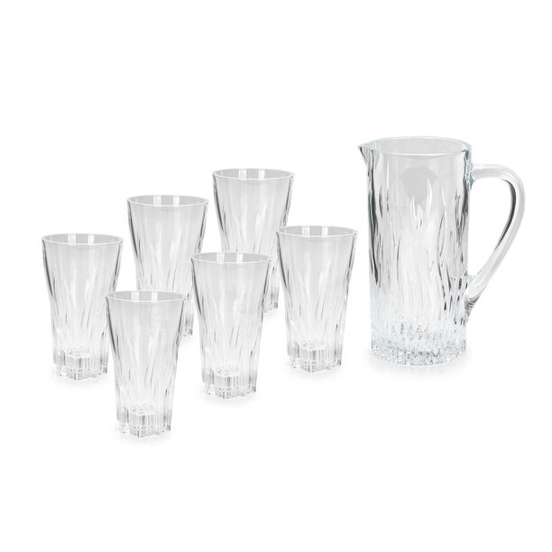 Rcr 7 Pcs Crystal Jug Set Fluente image number 0