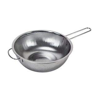 Alberto Stainless Steel Colander With Handle Dia:25Cm