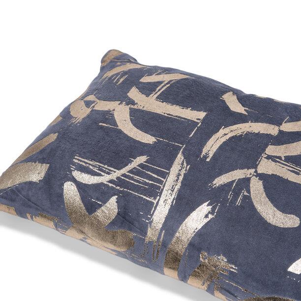 Cushion Cotton Silver Foiler Print 30X50 Cm image number 2