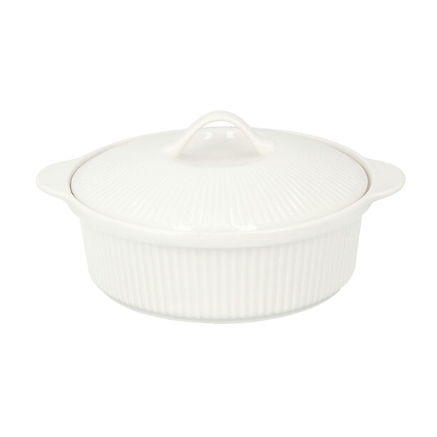 Round Casserole With Ceramic Lid image number 1