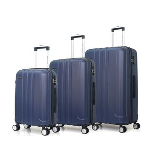 "Travel Vision Set Of 3 Pieces 20/26/30"" Blue"
